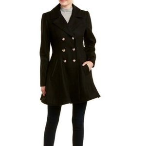 Laundry by shelli segal wool trench coat M